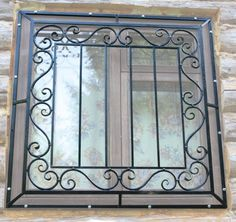 Grades nas janelas Railing Design, Grill Door Design, Grill Design, Door Design, Iron Doors, Iron Windows, Window Grill Design, Door Gate Design, Window Design