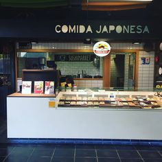 Ya puedes disfrutar del ramen de #Ramenkagura y del sushi de #Hanakura  en el Mercado de San Antón de #Chueca en la tienda de sushimarket.