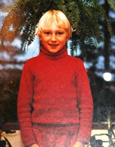A young Sami Hyypia