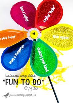 "Sing Good Morning: ""Fun To Do""~ a welcome song!"