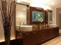Bathroom Aquarium #ATGStores