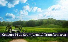 Câștigă Cartea 24 de Ore și Jurnalul Transformarea (valoare 170RON!)