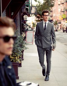 doublebreasted suit by Strellson #streetstyle #businesswear #strellson