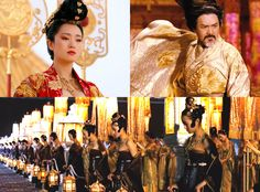Chinese Costume in Cinema, Curse of the Golden Flower