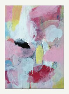Uncertainty  Original abstract painting canvas by CristinaBStudio, $660.00
