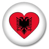 Albanien Ansteckbutton