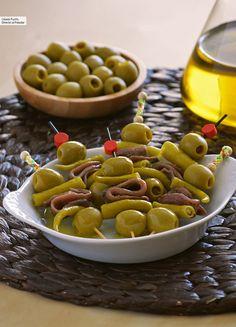 Gilda clásica: receta del pincho más famoso del País Vasco