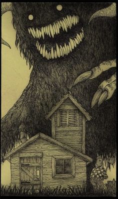 Lovecraftian Monsters in the Style of Edward Gorey