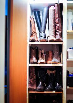 Organize Your Boots | Organization | Pinterest | Organizing, Organizations  And Build Wardrobe