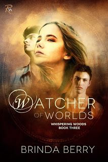 {Book Blitz: Blurb + Giveaway} of Watcher of Worlds (Whispering Woods by Brinda Berry Great Books, New Books, Wood Book, Book Sites, Books For Teens, Books To Read Online, Book Authors, Romance Novels, So Little Time