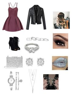 """""""Caitlins fancy"""" by melissar23 on Polyvore featuring Chi Chi, JustFab, Aspinal of London, Anne Klein, BERRICLE, Kendra Scott and Effy Jewelry"""