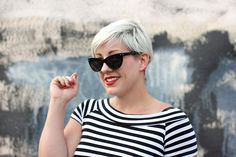 Outfit Post: Leopard is a Neutral - Lipstick, Lettuce & Lycra Pixie Cut With Undercut, Neutral Lipstick, Leopard Shoes, Pixie Cuts, About Hair, Vintage Hairstyles, Outfit Posts, Lettuce, Cat Eye Sunglasses