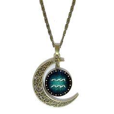 Dámský náhrdelník pozlacený znamení zvěrokruhu vodnář – náhrdelníky Na tento produkt se vztahuje nejen zajímavá sleva, ale také poštovné zdarma! Využij této výhodné nabídky a ušetři na poštovném, stejně jako to udělalo již velké množství …