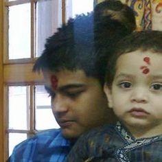 Aparajit Sachdevas idea of I Live Uber Life is being I'm with ma nephew on the festive day of bhaiya dooj. :D