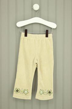 Baby Q Size 6-9M Velour Pants
