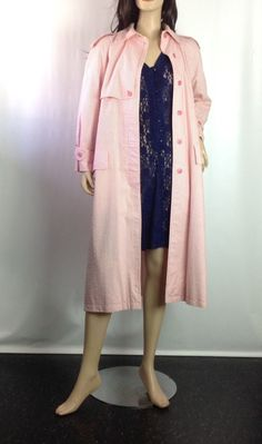 Ilie Wacs Seersucker Coat Pink and White by sixcatsfunVINTAGE