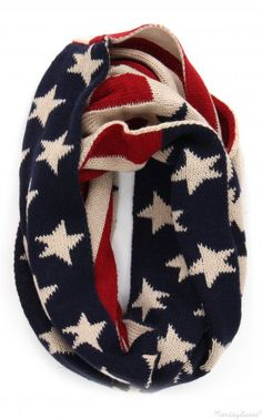 Stars And Stripes Forever Infinity Scarf