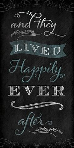 Home :: Interior Wall Art :: Framed Print Artwork :: And They Lived Happily Ever After Framed Print Artwork