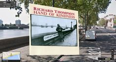 Richard Thompson, Hand of Kindness | 12 Iconic London Album Covers You Can Visit On Street View