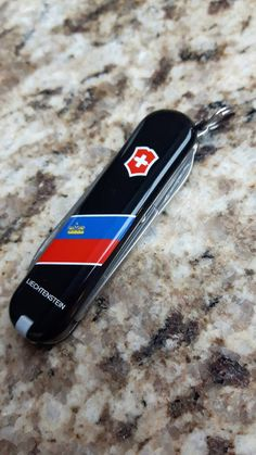 Vintage Pocket Knife Swiss Army Flag by TheYoungAntiquers on Etsy