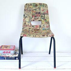Beano Comic Upcycled Chair