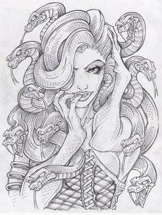 Medusa Drawing Tumblr 1000+ ideas about <b>medusa drawing</b> on pinterest the titans ...