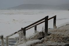 Storms hit Lorne beach, Victoria  Submitted by: Ashley Dunn  04/06/2012