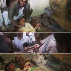 An air strikes by saudi warplanes targeted civilian in #Sadaa #Yemen #صعدة - منزل أحسن صبرة 15/04/2015