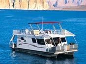 Lake Powell Houseboat - 8 summers of my life spent on this same boat... oh the memories :) It has downstairs bedrooms in the pontoons!