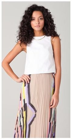 bba04248f9 10 Best Side pleated skirts inspiration images | Pleated Skirt ...
