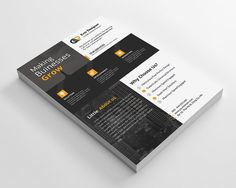 Business Flyer by Creative Idea on @creativemarket