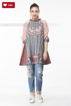 e4ecc38c9060a Ethnic Floral Embroidered Fusion Top EWPFF17026-MTP Pret 2017 - Original  Online Shopping Store