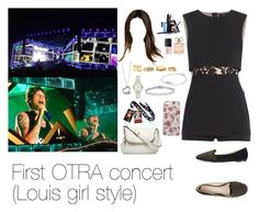 """""""Watching Louis performing"""" by myllenna-malik ❤ liked on Polyvore featuring BCBGMAXAZRIA, Charlotte Russe, Elie Saab, NARS Cosmetics, Ana Lublin, Wet Seal, Lancôme, Elsa Peretti, Tom Ford and Pandora"""