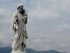 Imagen católica: san jose, camposanto, escultura, cementerio, costa rica - Cathopic