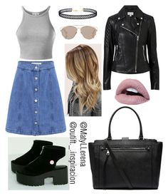 """""""Untitled #68"""" by matyllerena on Polyvore featuring Être Cécile, LULUS, Witchery and Christian Dior"""