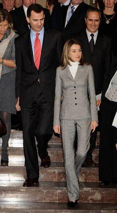Queen Letizia of Spain Photos - Prince Felipe & Princess Letizia Attend 12th Codespa Awards - Zimbio