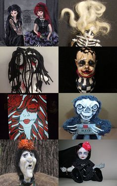 Pretty Awful Halloween by Lorraine on Etsy--Pinned with TreasuryPin.com