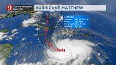 Matthew reaches maximum Category 5; track shifts a bit to the west