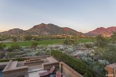 Incredible mountain and golf course views. #silverleaf #luxury #scottsdale #realestate #views