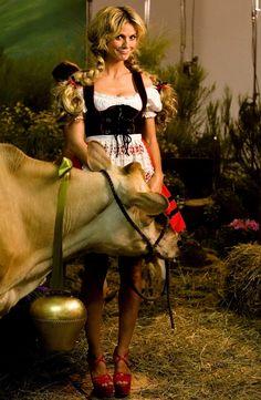 корова, модель