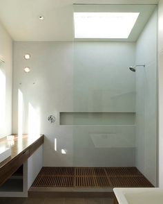 Scandinavian design shower