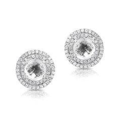 At Anne Sisteron Fine Jewelry, Buy white gold white topaz diamond sonrisa stud earrings online White Topaz, White Gold, Studs, Fine Jewelry, Stud Earrings, Diamond, Stud Earring, Stud Earring, Diamonds