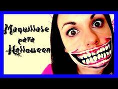 Tutorial de Maquillaje Fácil párrafo gigante dentadura Halloween, American Horror Story - YouTube