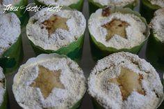 Frau Tschi-Tschi: Apfelmus - Muffins mit Streuseln