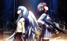 Image shared by Laura. Find images and videos about anime, angel and angel beats on We Heart It - the app to get lost in what you love. Anime Angel, Ange Anime, Sad Anime, Anime Art, Me Me Me Anime, Anime Life, Kawaii Anime, Clannad, Disney Marvel