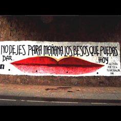 No dejes…  #accion #muros