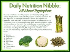 All about Tryptophan