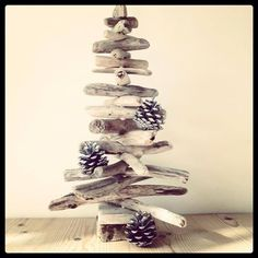 Driftwood Christmas tree from Driftwood Dreaming
