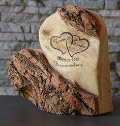 Eternal love, wood decoration, 28 cm, wedding gift - ALL ABOUT Wedding Gifts, Wedding Day, Casual Wedding, Wood Gifts, Eternal Love, Wooden Decor, Woodworking Crafts, Wood Art, Wood Wood
