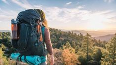 Built for comfort and stability on long hauls, the women's REI Traverse 65 lets you customize the fit for load balance with a ventilated mesh back panel. Backpacking Tips, Packing Tips For Travel, Hiking Tips, Packing Lists, Travel Hacks, John Muir, Cinque Terre, Kyoto, Photography New York